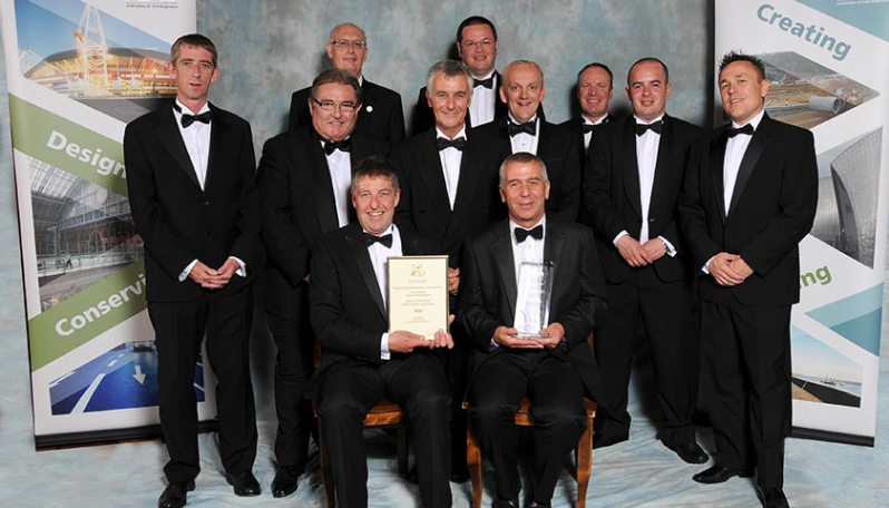 ICE South East, Kent & East Sussex Branch - Winner of Engineering Excellence Awards 2012 – Cleve Hill Onshore 400kV/150kV Substation
