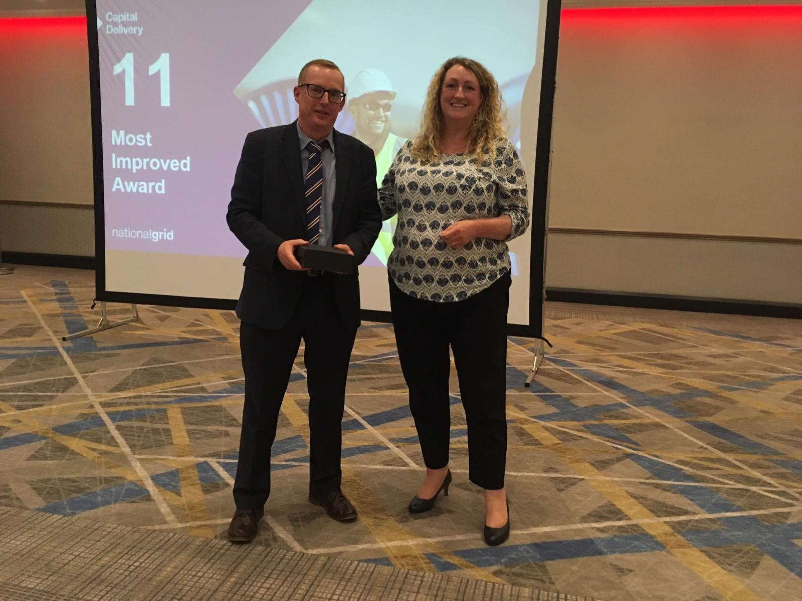 National Grid Most Improved Award 2019