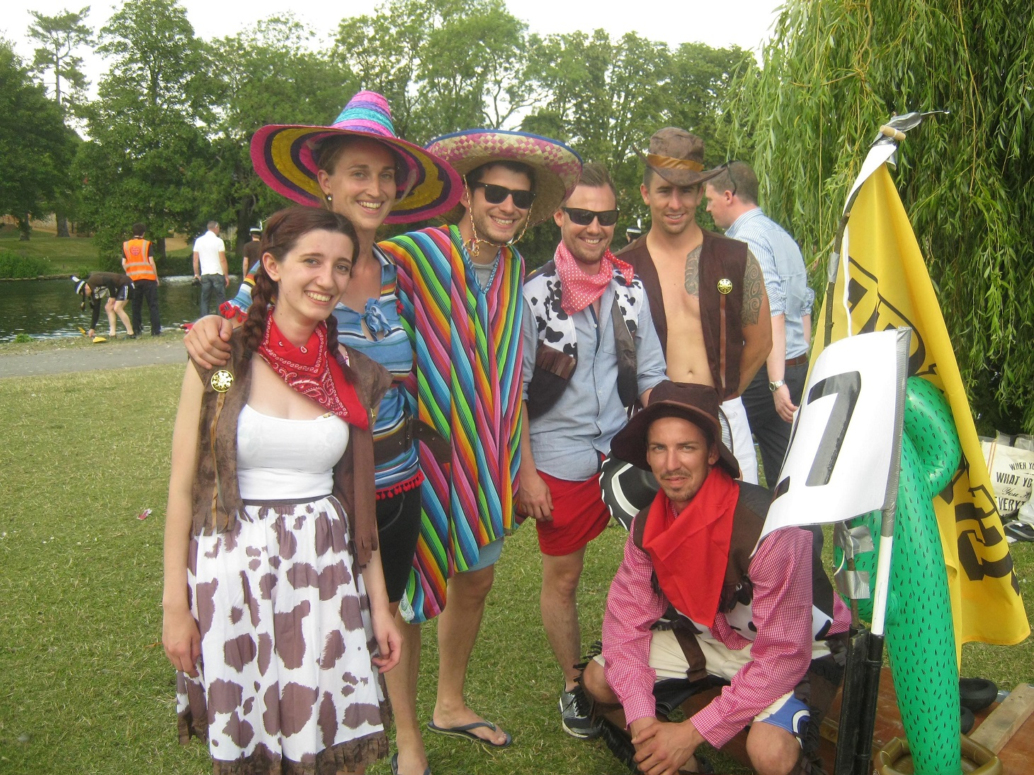 Wild West Row-Deo Raft Race
