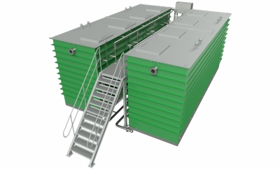 Containerised Wastewater Treatment